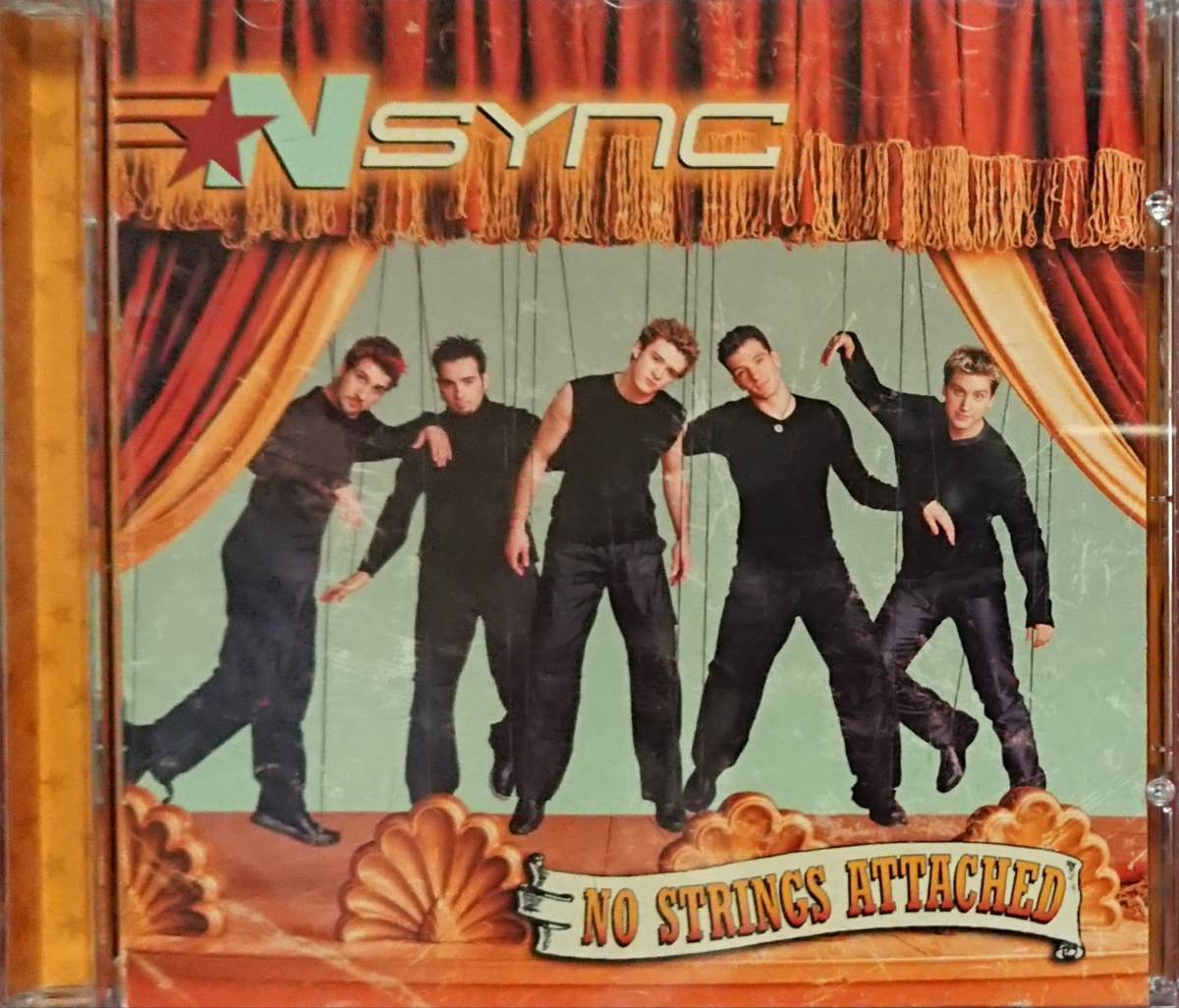 'NSYNC(イン・シンク)/NO STRINGS ATTACHED ※'00年盤_画像2