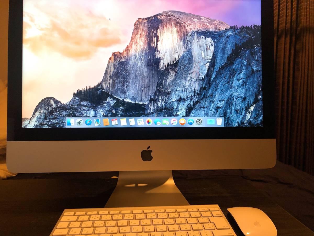Apple iMac (21.5インチ, 2.7 GHz Intel Core i5) PC パソコン 高性能 アップル