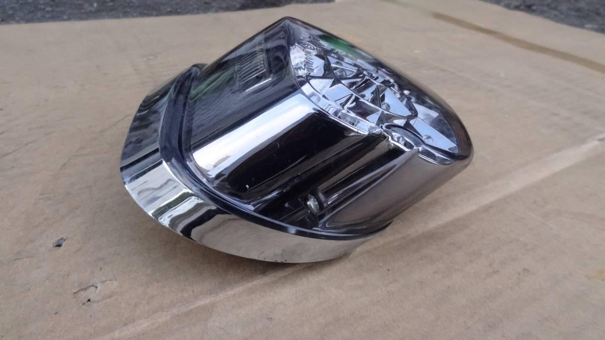 ハーレーダビッドソン用 メーカー不明LEDテールランプ ライトスモークレンズ 中古品 車検対応_画像3
