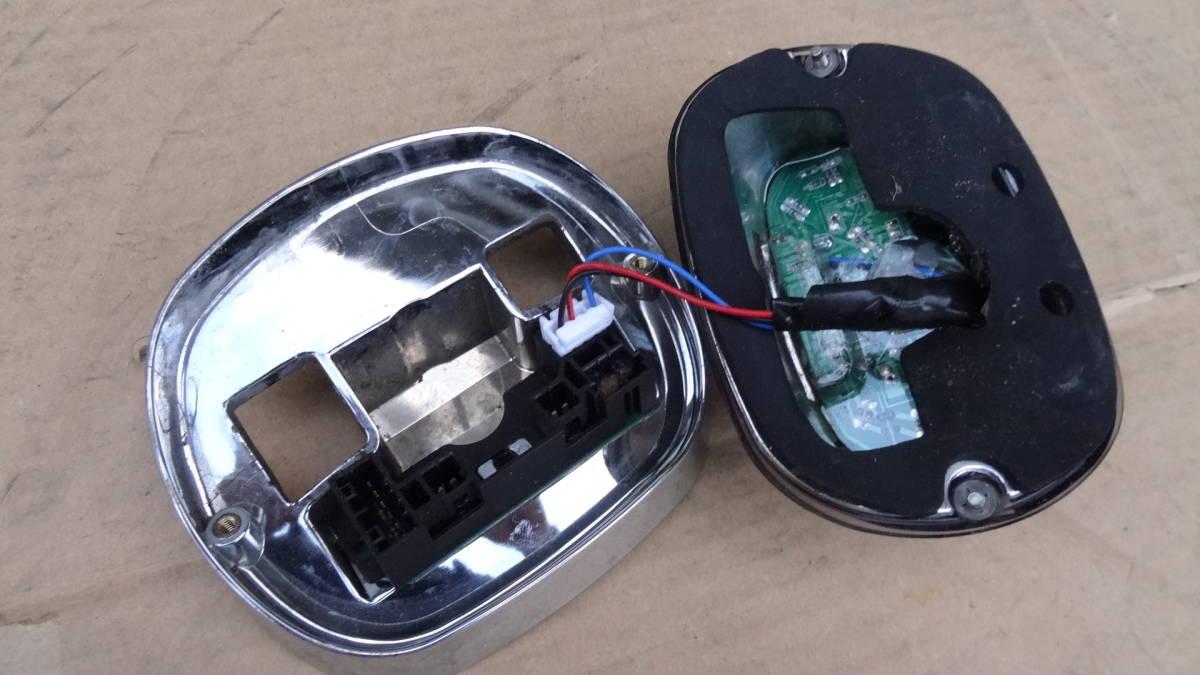 ハーレーダビッドソン用 メーカー不明LEDテールランプ ライトスモークレンズ 中古品 車検対応_画像4
