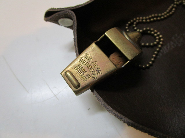 Antique The Acme Thunderer Brass(真鍮)MADE IN ENGLAND ホイッスル USED_画像3