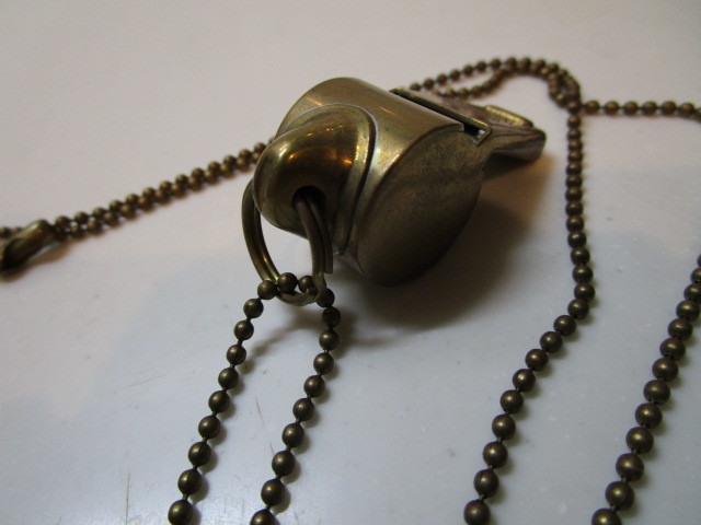 Antique The Acme Thunderer Brass(真鍮)MADE IN ENGLAND ホイッスル USED_画像8