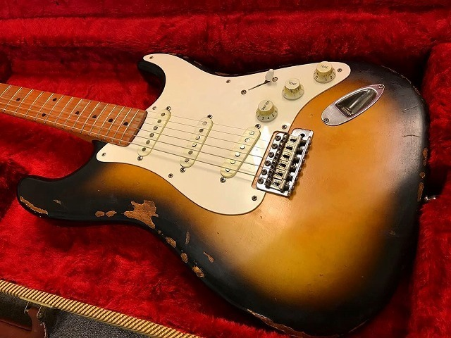 1956 Custom Order Neck Stratocaster ビンテージ レリック エイジド ストラト_画像2