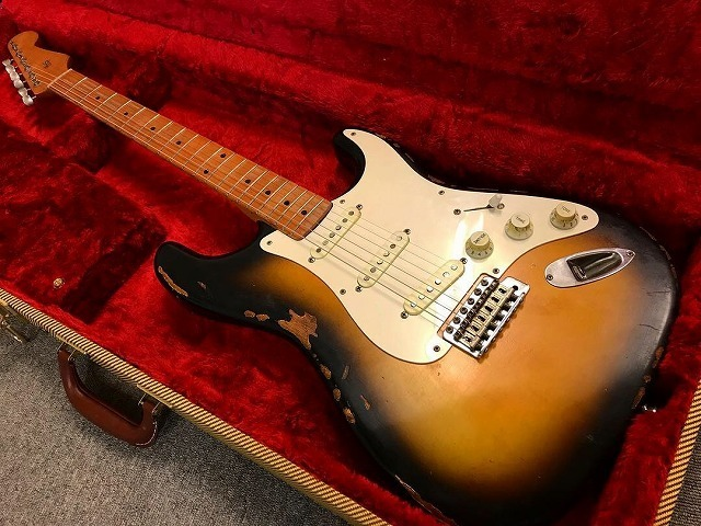 1956 Custom Order Neck Stratocaster ビンテージ レリック エイジド ストラト_画像1