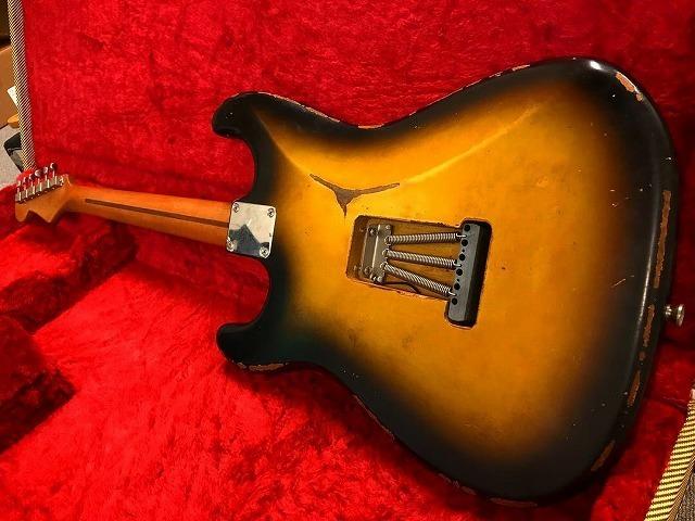 1956 Custom Order Neck Stratocaster ビンテージ レリック エイジド ストラト_画像9