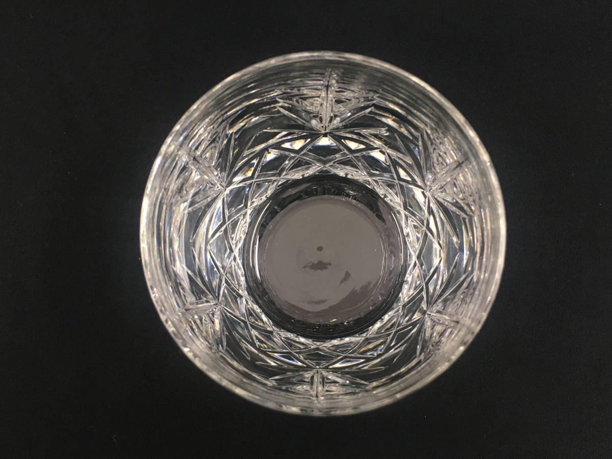 米ホワイトハウス使用 LENOX USA レノックス チャールストン クリスタルロックグラス ペア Charleston Double Old Fashioned Glass Tumbler_画像4