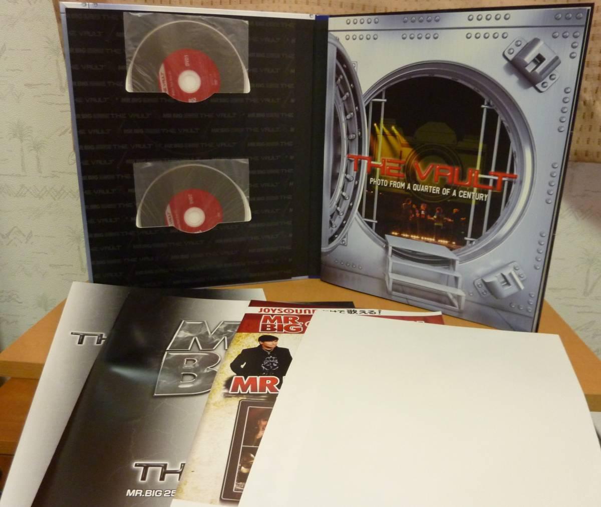 帯付【20CD+2DVD+フォトブック他】Mr. BIG THE VAULT アーカイヴ・コレクション ザ・ヴォールト【中古品】IEZP-100 MRBIG-2_画像7