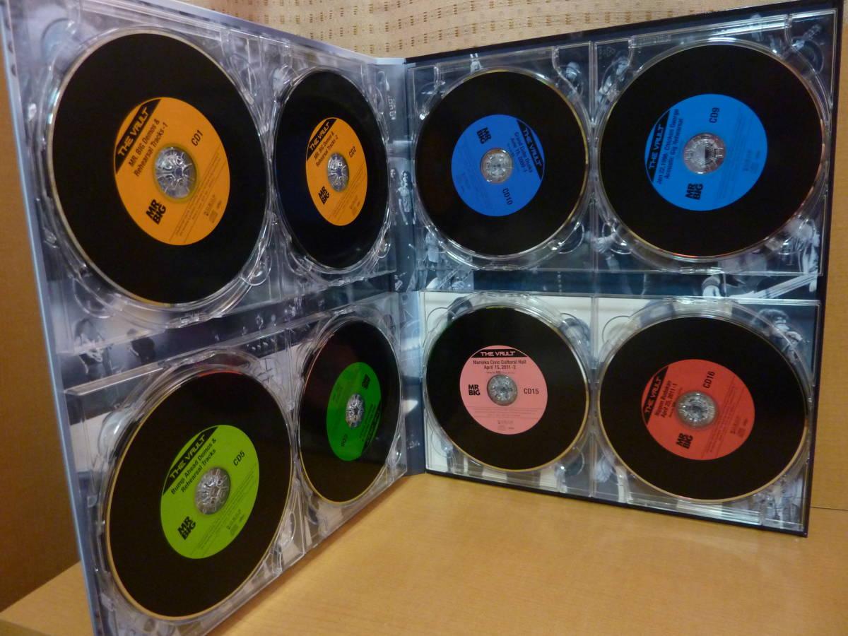帯付【20CD+2DVD+フォトブック他】Mr. BIG THE VAULT アーカイヴ・コレクション ザ・ヴォールト【中古品】IEZP-100 MRBIG-2_画像6