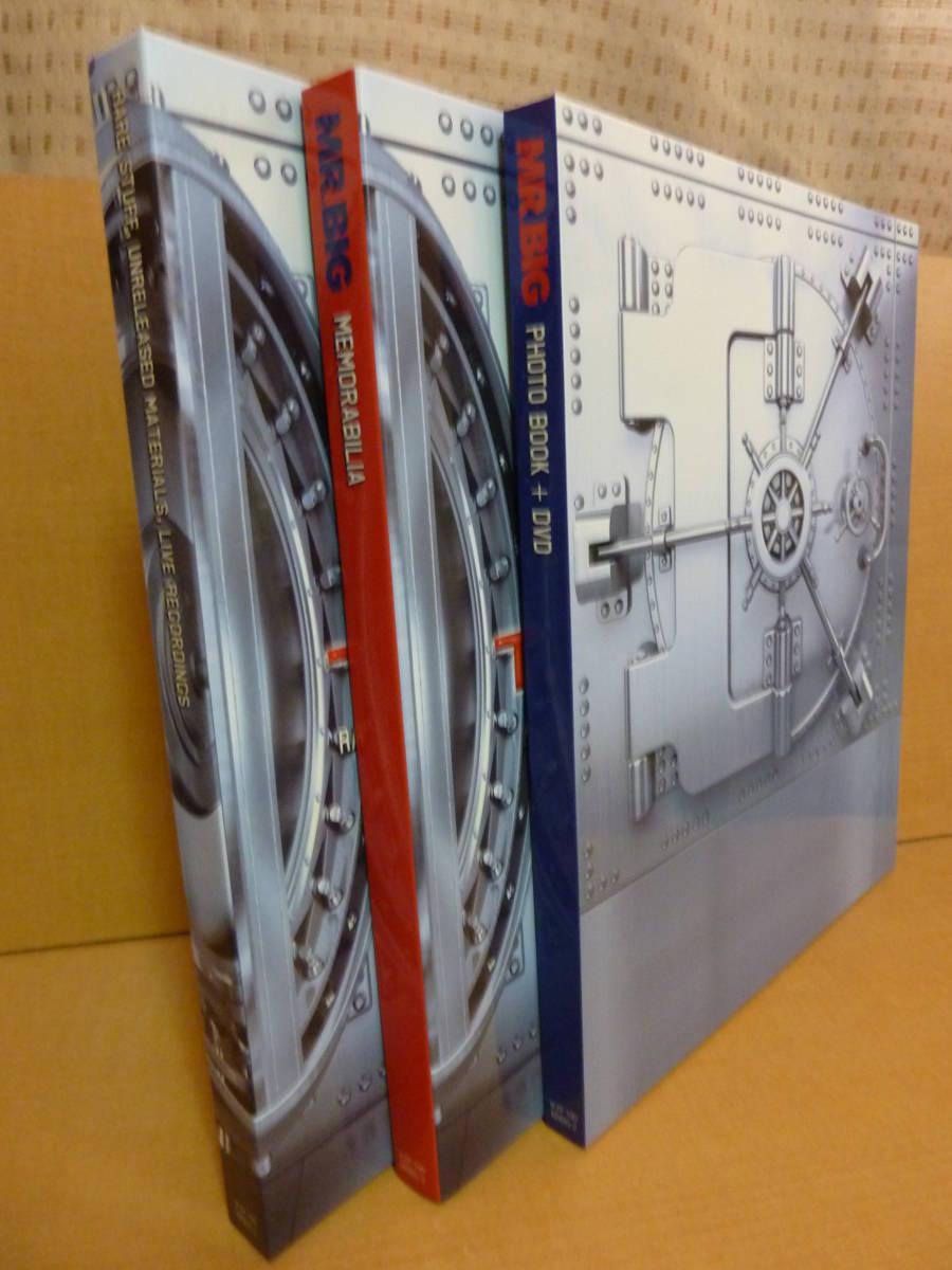 帯付【20CD+2DVD+フォトブック他】Mr. BIG THE VAULT アーカイヴ・コレクション ザ・ヴォールト【中古品】IEZP-100 MRBIG-2_画像4