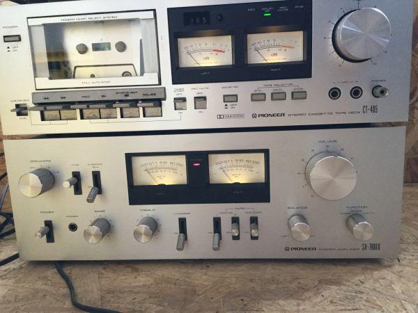 PIONEER パイオニア スピーカー 3way CS-F7000 アンプ チューナー カセットデッキ セット TX 7800Ⅱ CT405 SA7800Ⅱ_画像7