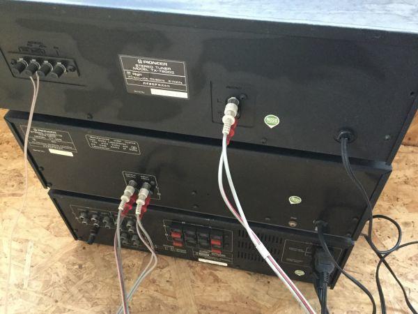 PIONEER パイオニア スピーカー 3way CS-F7000 アンプ チューナー カセットデッキ セット TX 7800Ⅱ CT405 SA7800Ⅱ_画像10