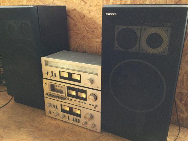 PIONEER パイオニア スピーカー 3way CS-F7000 アンプ チューナー カセットデッキ セット TX 7800Ⅱ CT405 SA7800Ⅱ