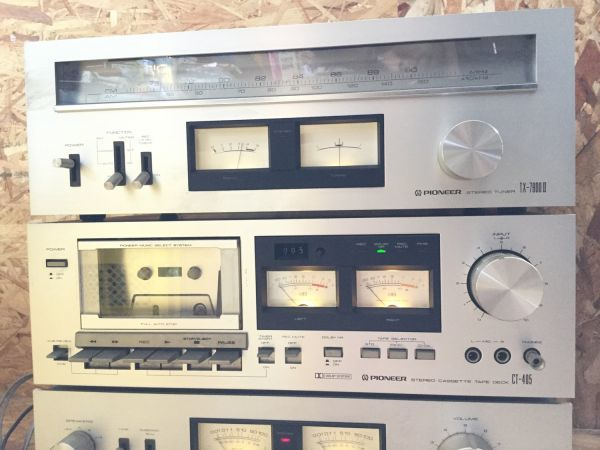 PIONEER パイオニア スピーカー 3way CS-F7000 アンプ チューナー カセットデッキ セット TX 7800Ⅱ CT405 SA7800Ⅱ_画像6