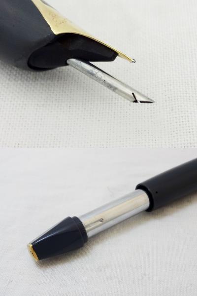 レア! SHEAFFER シェーファー USA 万年筆 ペン先 SHEAFFER'S 14K スノーケル 吸引式 ビンテージ [U]_画像10