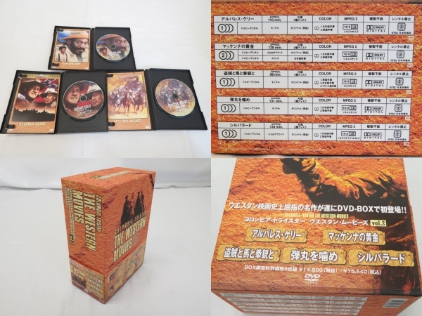 DVDまとめて20点/THE WESTERN MOVIES vol.2/ダーティーハリーシリーズDVDコレクターズボックス/WESTERN HEROES BOX.2など [K]_画像3