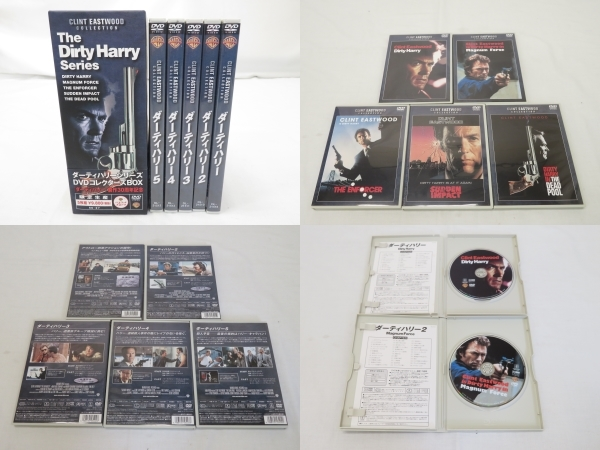 DVDまとめて20点/THE WESTERN MOVIES vol.2/ダーティーハリーシリーズDVDコレクターズボックス/WESTERN HEROES BOX.2など [K]_画像4