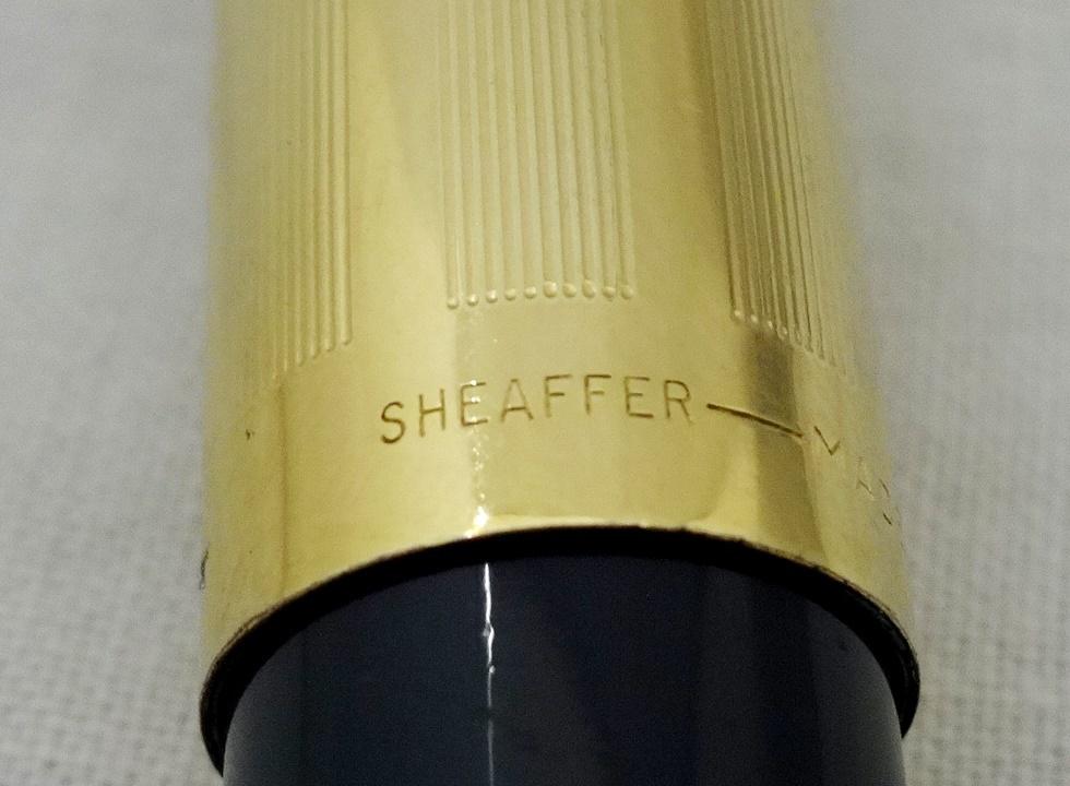 レア! SHEAFFER シェーファー USA 万年筆 ペン先 SHEAFFER'S 14K スノーケル 吸引式 ビンテージ [U]_画像5