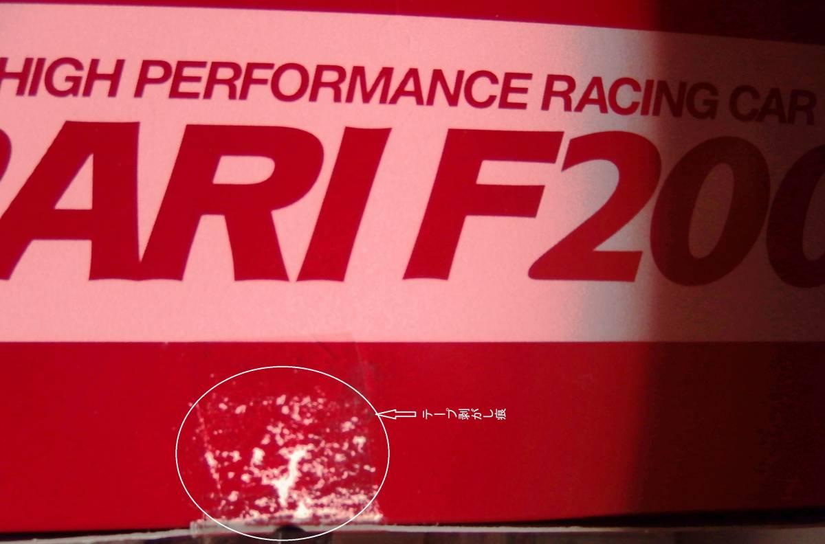 絶版 タミヤ フェラーリ F2001 電動RC フォーミュラー1レーシングカー 1/10_画像8