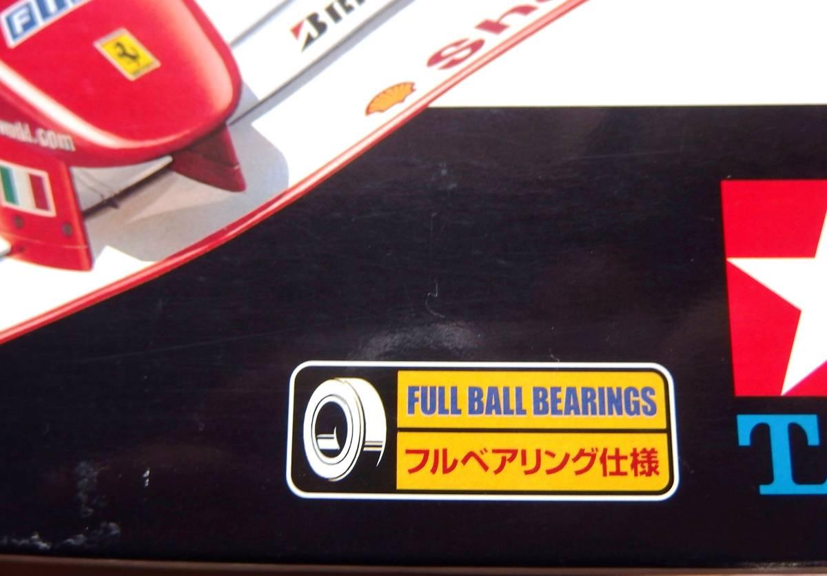 絶版 タミヤ フェラーリ F2001 電動RC フォーミュラー1レーシングカー 1/10_画像2