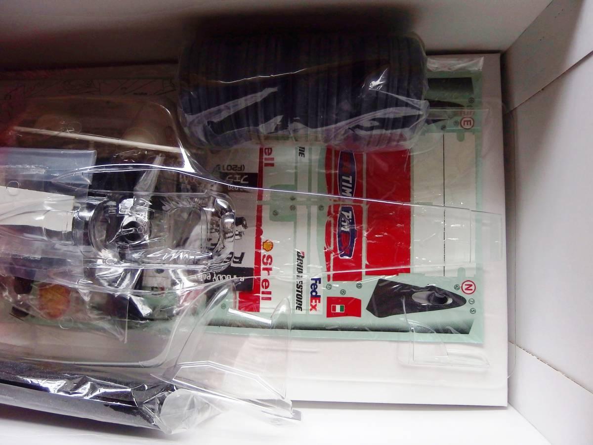 絶版 タミヤ フェラーリ F2001 電動RC フォーミュラー1レーシングカー 1/10_画像10