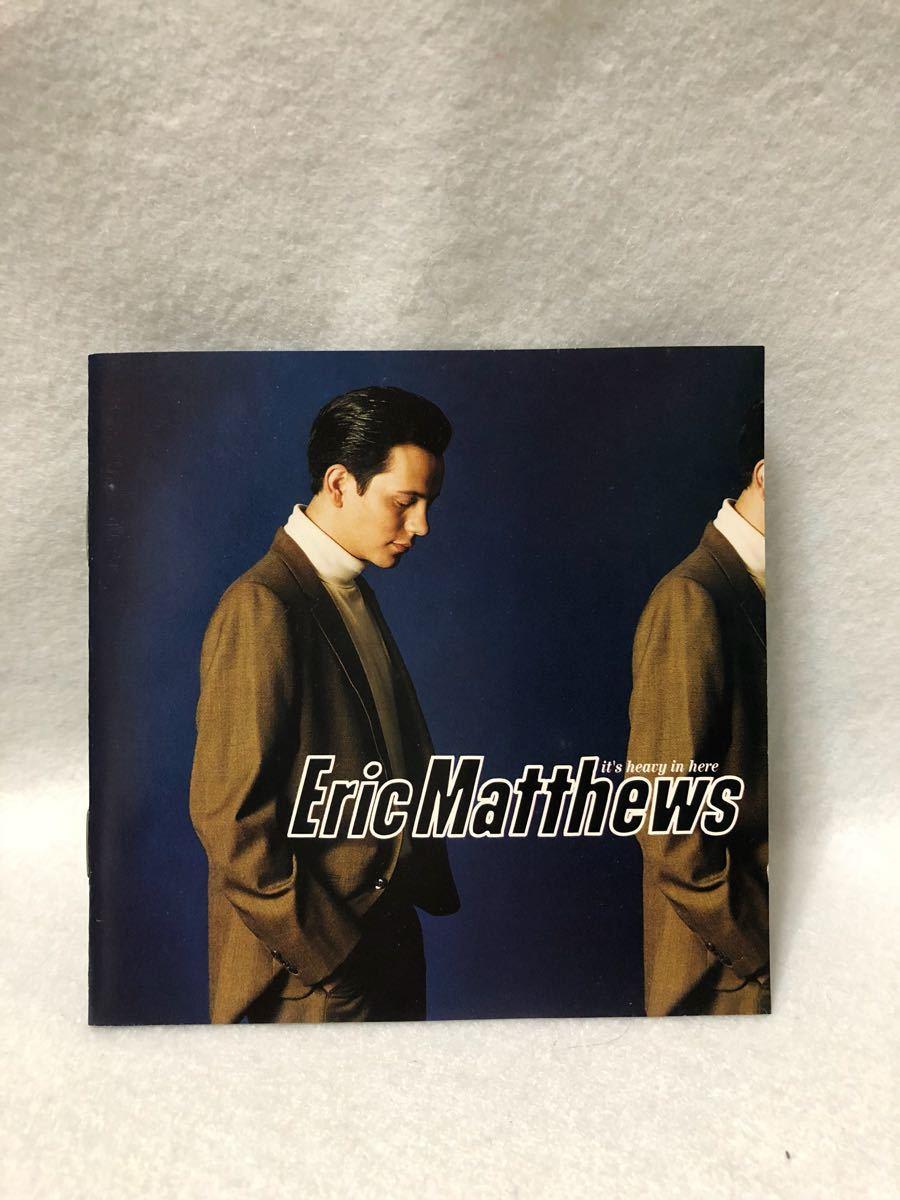 CD 蔵出し-359【洋楽】エリック・マシューズ/イッツ・ヘビー・イン・ヒア cc105_画像1