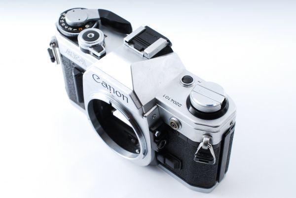 ★外観極上美品★Canon キヤノン AE-1 FD 35-70mm F3.5-4.5★モルト交換済み!B202_画像3