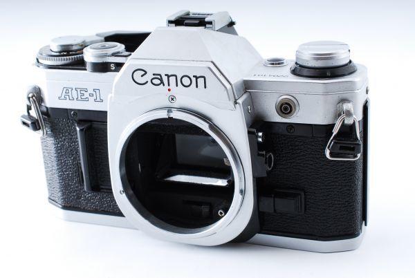 ★外観極上美品★Canon キヤノン AE-1 FD 35-70mm F3.5-4.5★モルト交換済み!B202_画像2