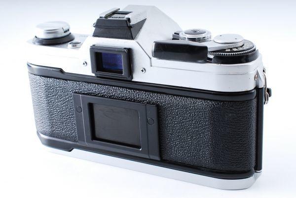 ★外観極上美品★Canon キヤノン AE-1 FD 35-70mm F3.5-4.5★モルト交換済み!B202_画像5