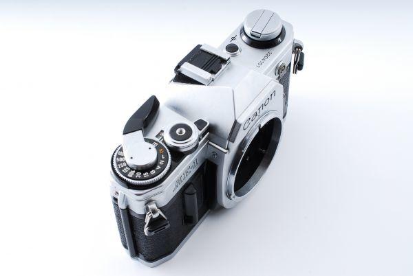 ★外観極上美品★Canon キヤノン AE-1 FD 35-70mm F3.5-4.5★モルト交換済み!B202_画像4