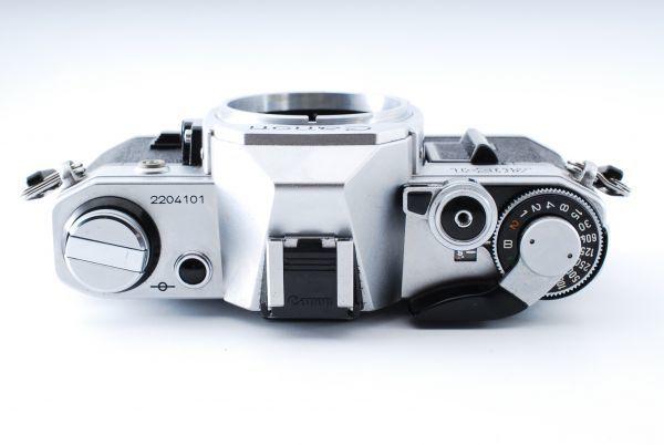 ★外観極上美品★Canon キヤノン AE-1 FD 35-70mm F3.5-4.5★モルト交換済み!B202_画像8