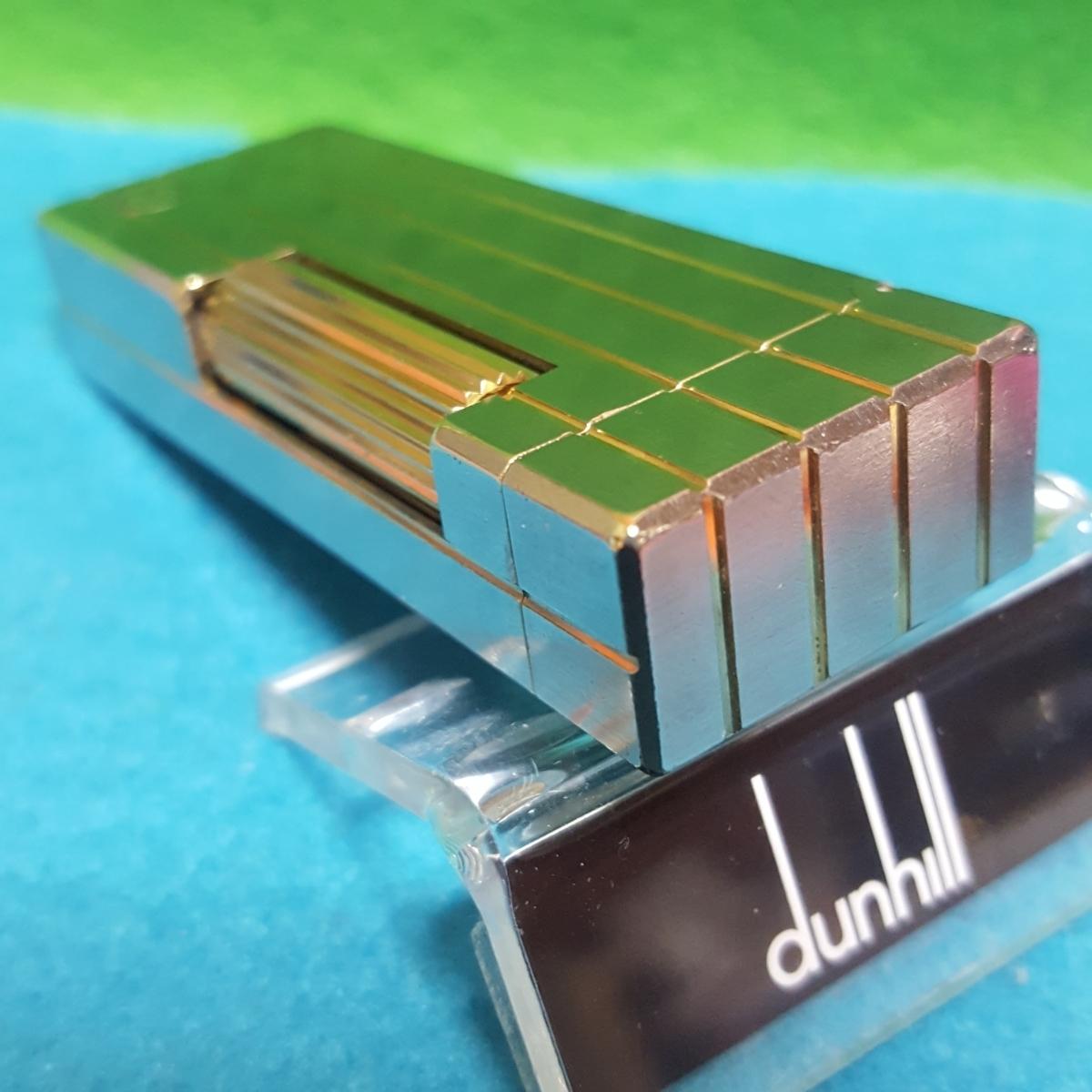 ダンヒルライター/D628/美品/オーバーホール/シルバー/パラジウム/Ⅳライン/dマーク/レストア_画像3