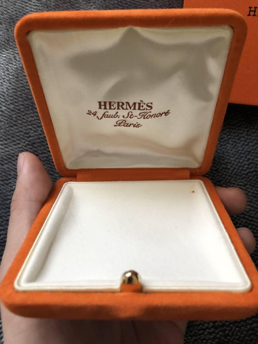 HERMES 箱付き 美品 レア ペンダントトップ コインネックレス エルメス シルバー ゴールド ネックレス_画像4