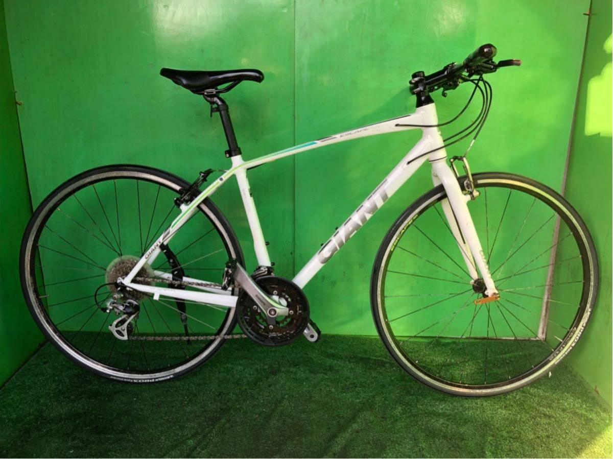 GIANT 700×23 24段ギヤ Sサイズ ホワイト