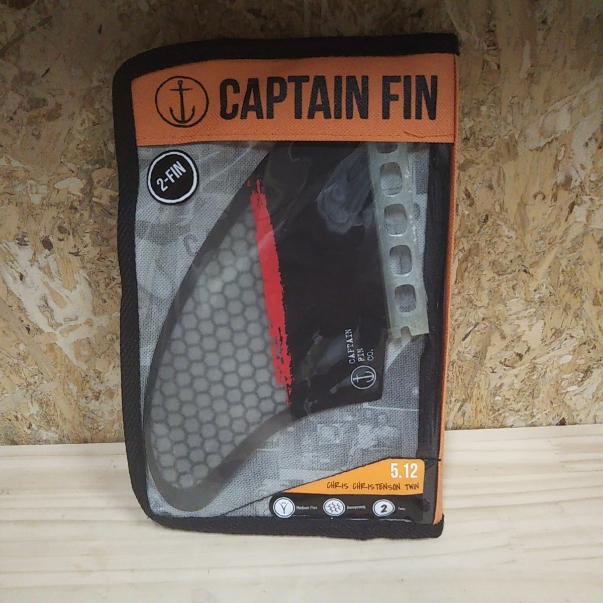 CAPTAIN FIN CHRIS CHRISTENSON TWIN クリステンソン ツインフィン_画像4