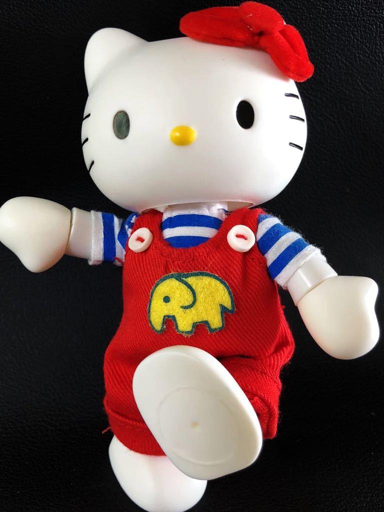 『1円スタート!』★ Hello Kitty ★【激レア・美品】自在フィギュア2点セット!1974・2004年スタイル★約11.5cm★30周年記念!現品限り!_画像10