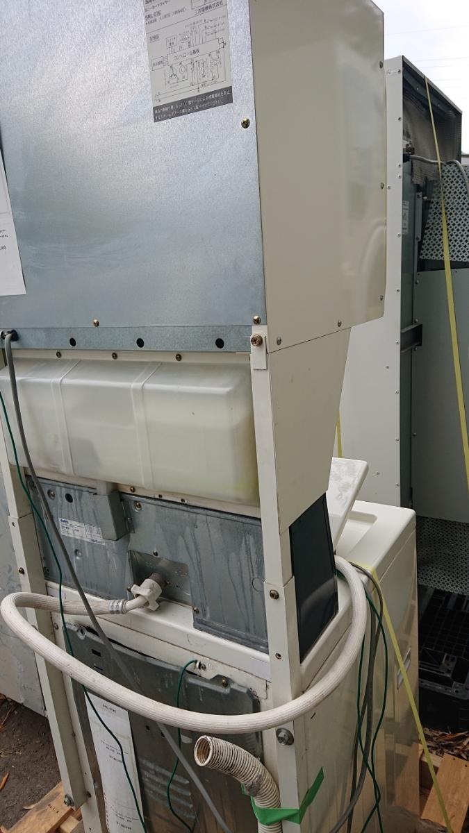 大分発 SANYO コイン式 スニーカーウォッシャー スニーカードライヤー コイン式洗濯機 乾燥機 SNL-D3C SNL-W3C サンヨー 60Hz 実働品 鍵有_画像10