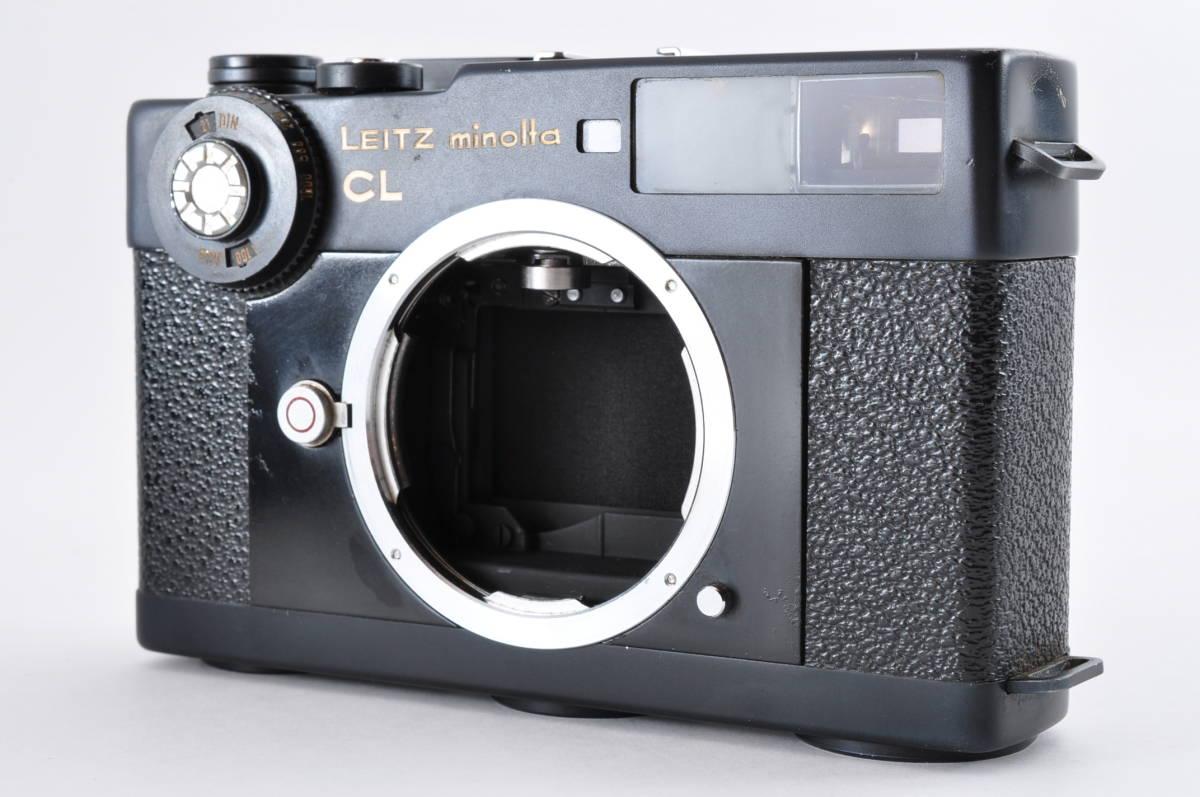 格安 Minolta CL ミノルタ CL ライカ M マウント 35mm Rangefinder 送料無料 防湿庫保管 フィルムカメラ アンティーク 最低落札価格無し