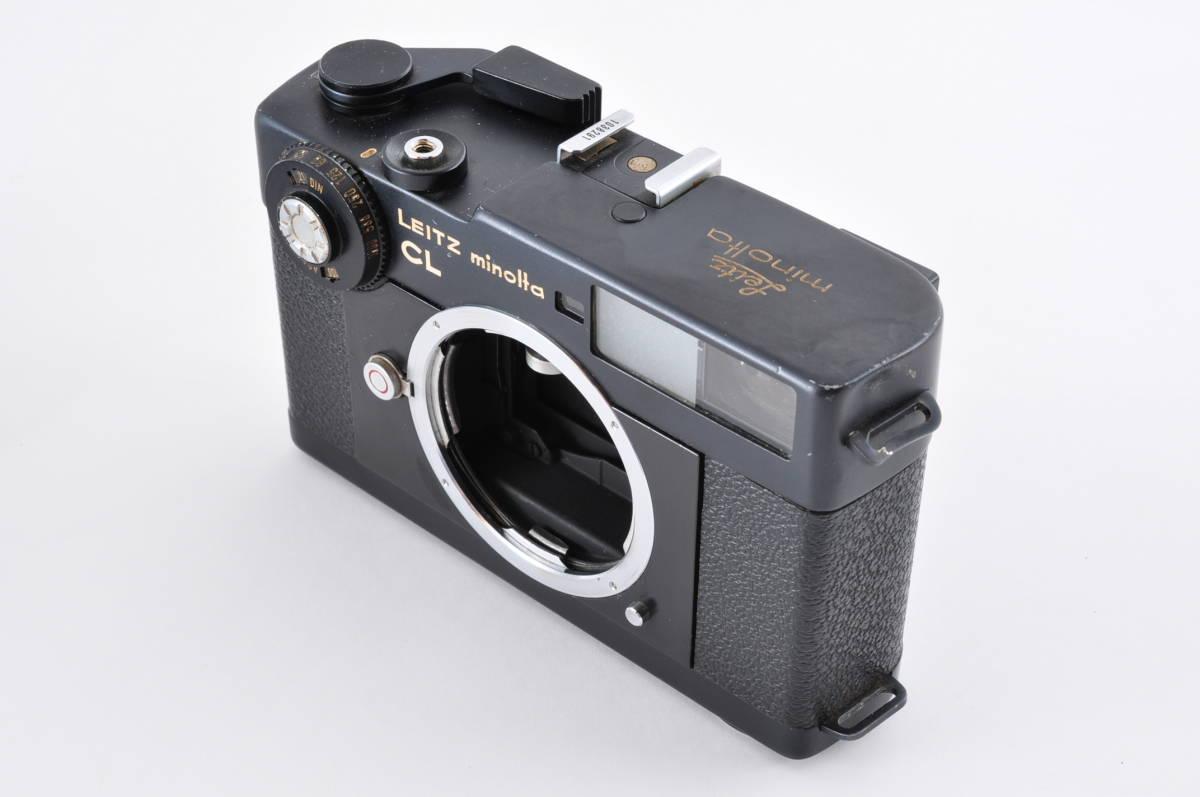格安 Minolta CL ミノルタ CL ライカ M マウント 35mm Rangefinder 送料無料 防湿庫保管 フィルムカメラ アンティーク 最低落札価格無し_画像2