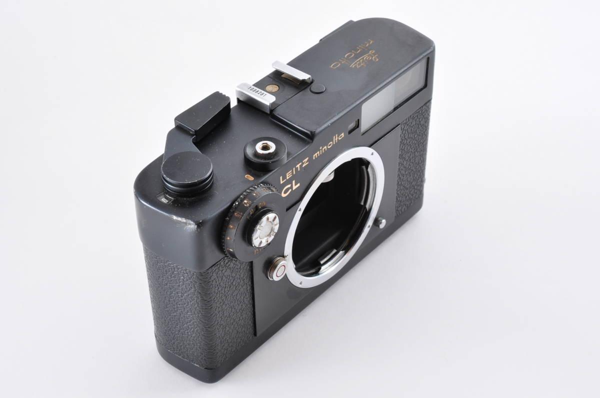格安 Minolta CL ミノルタ CL ライカ M マウント 35mm Rangefinder 送料無料 防湿庫保管 フィルムカメラ アンティーク 最低落札価格無し_画像3