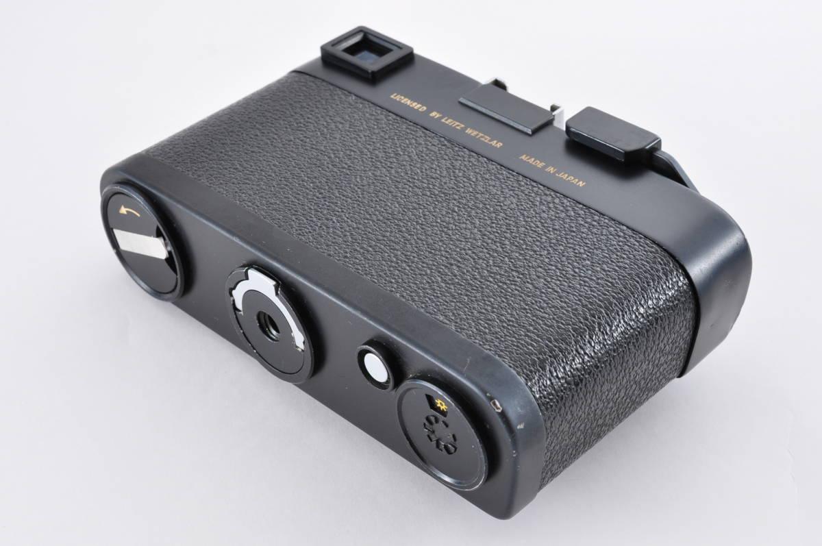 格安 Minolta CL ミノルタ CL ライカ M マウント 35mm Rangefinder 送料無料 防湿庫保管 フィルムカメラ アンティーク 最低落札価格無し_画像4