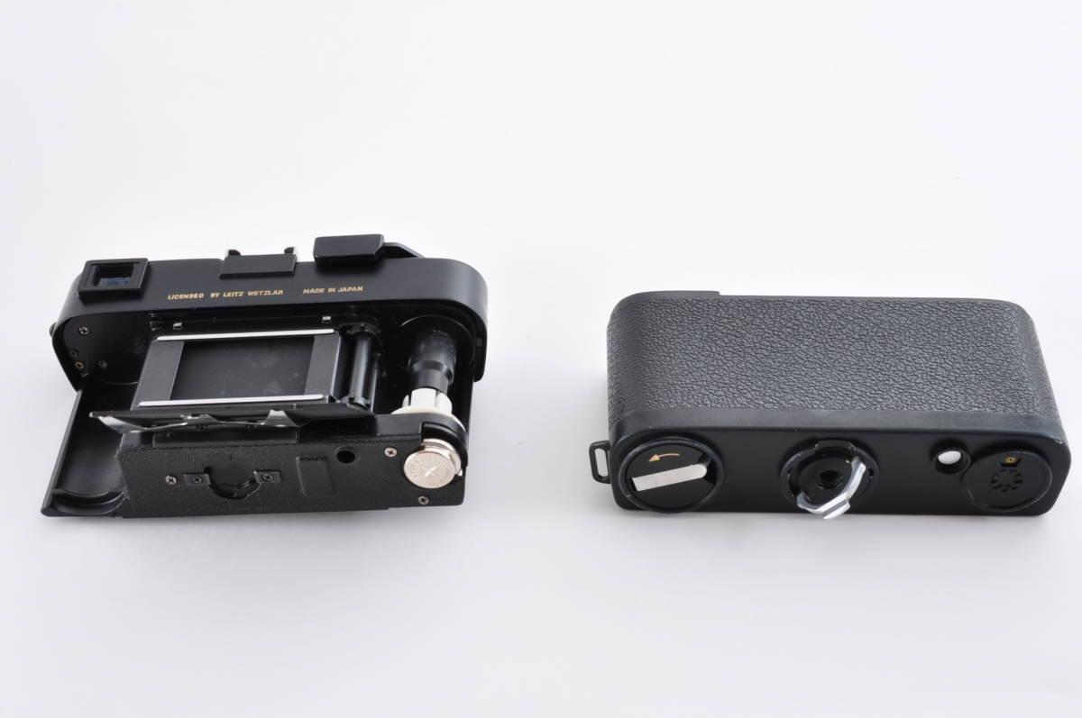格安 Minolta CL ミノルタ CL ライカ M マウント 35mm Rangefinder 送料無料 防湿庫保管 フィルムカメラ アンティーク 最低落札価格無し_画像9