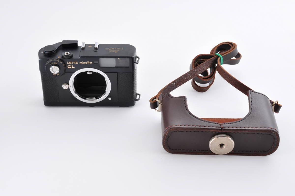 格安 Minolta CL ミノルタ CL ライカ M マウント 35mm Rangefinder 送料無料 防湿庫保管 フィルムカメラ アンティーク 最低落札価格無し_画像10