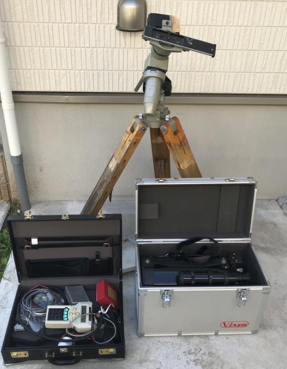4#F1/3706 CELESTRON セレストロン 鏡筒 C8-EX / ビクセン SKYSENSOR 2000 付属品など 望遠鏡 /三脚 ジャンク 動作未確認
