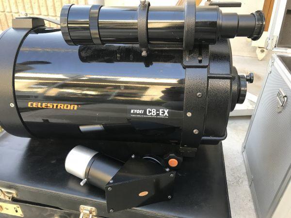 4#F1/3706 CELESTRON セレストロン 鏡筒 C8-EX / ビクセン SKYSENSOR 2000 付属品など 望遠鏡 /三脚 ジャンク 動作未確認 _画像10