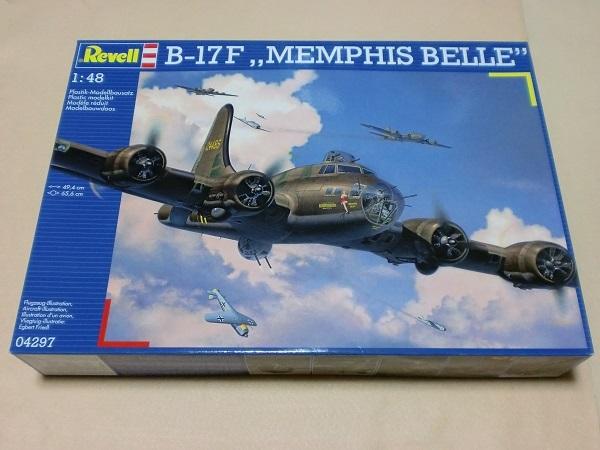 ドイツ レベル 1/48 アメリカ空軍 フライング フォートレス メンフィスベル B-17F 空飛ぶ要塞 MEMPHIS BELLE  REVELL 04297 _画像1