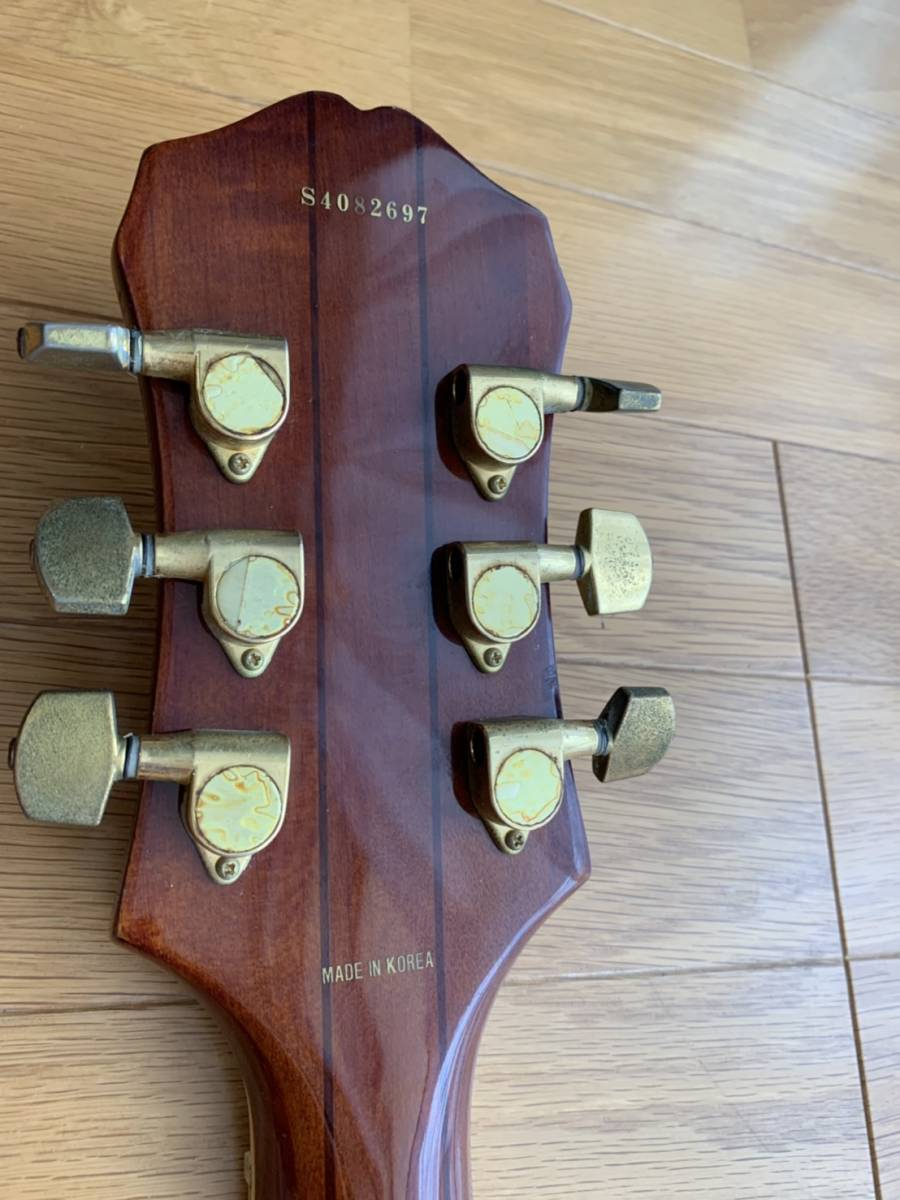 Epiphone (by GIBSON)セミアコ ギター【ジャンク 1円スタート】エピフォン by ギブソン_画像5