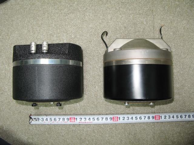左側:TD-2001との比較です(比較用です)