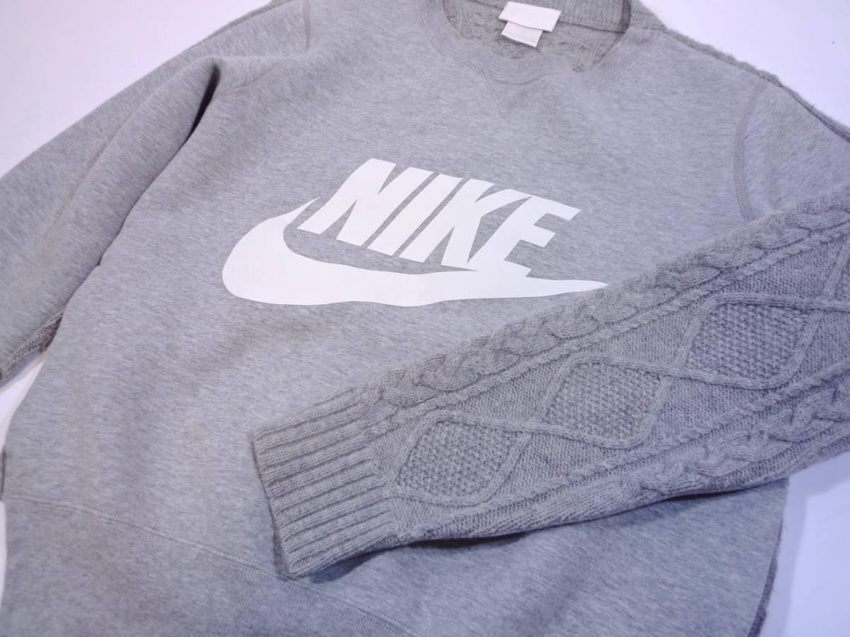 sacai/Nike15AW ケーブルバックフリースS