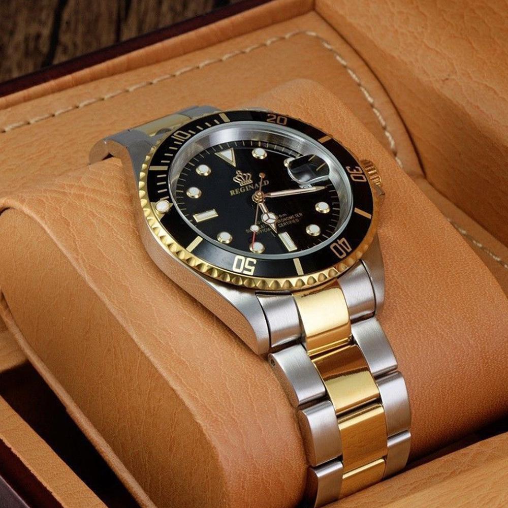 高品質 ダイバーウォッチ 腕時計 メンズ 人気トップブランド ROLEX風 サブ マリーナ ステンレス 300M防水性サファイア 共箱 国内発送即_画像7