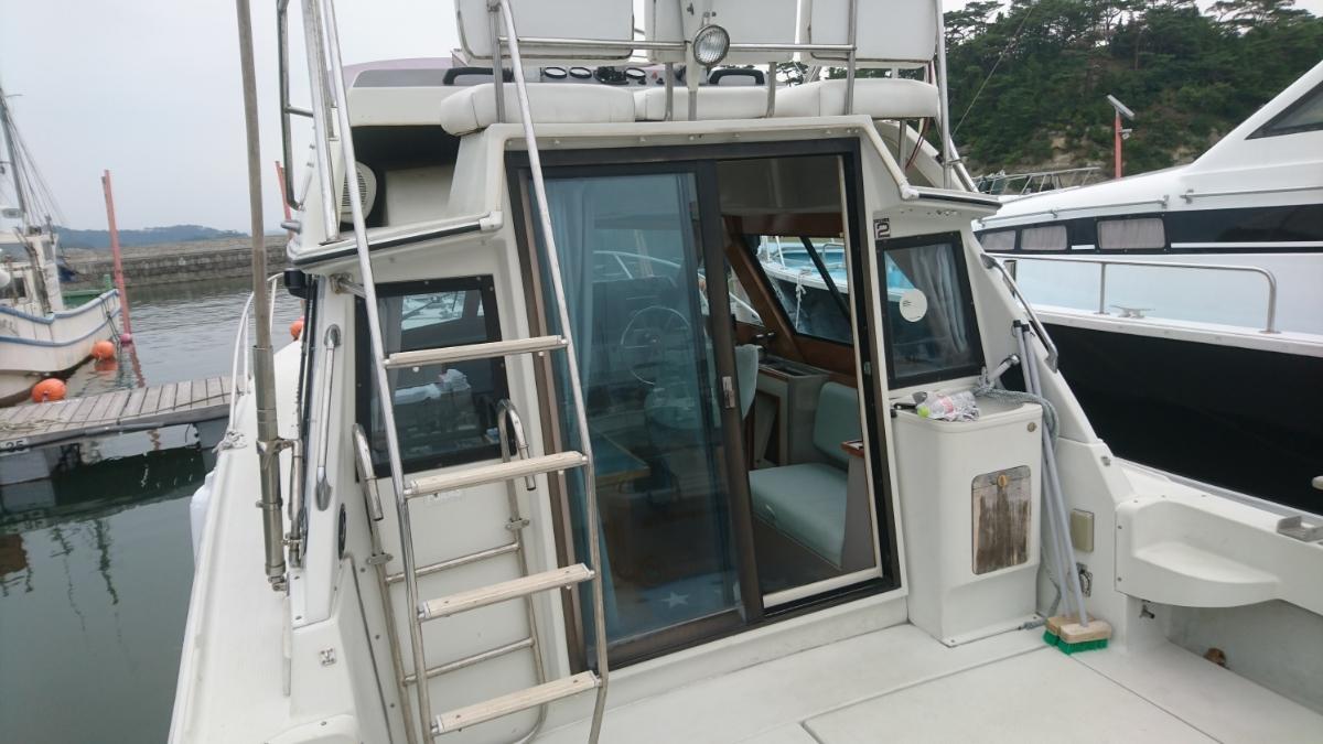 【値下げ有】ヤマハ PC30Ⅲ 左右1000アワー程度の低時間 宮城県 船検長い 修理必要_画像7
